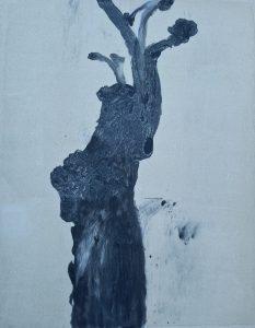 Stump #64 [small version], Monoprint, 32cm x 24cm, £30