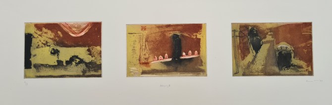 Allegory II, '97, Photoetching, Edition 1, £130, 6 remaining from edition of 8