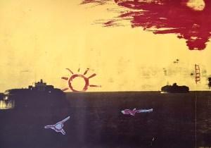 'Future', Silkscreen, 2000, 81cm x 152cm, £800 uf, 1 Edition of 10