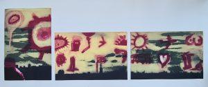 'Pondlife', Photetching, 1999, 81 cm x 185cm, 1 Edition