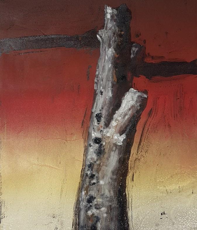 Stump #150, Monoprint, 36cm x 30cm, £120