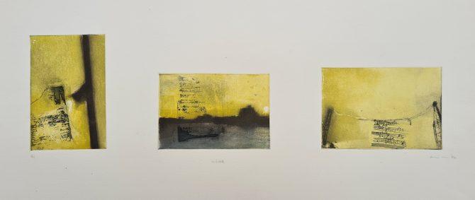 Untitled (#1 [Wandsworth Bridge], postgrad '94), Photoetching, Edition 1, £150