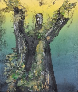 Stump #221, Monoprint, 36cm x 30cm