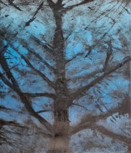 Ojai #22, Monoprint, 30cm x 36cm