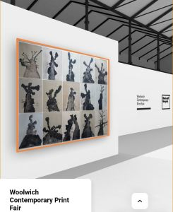 The Tree Portraits I at the Woolwich Contemporary Art Fair [virtual edition] 2020