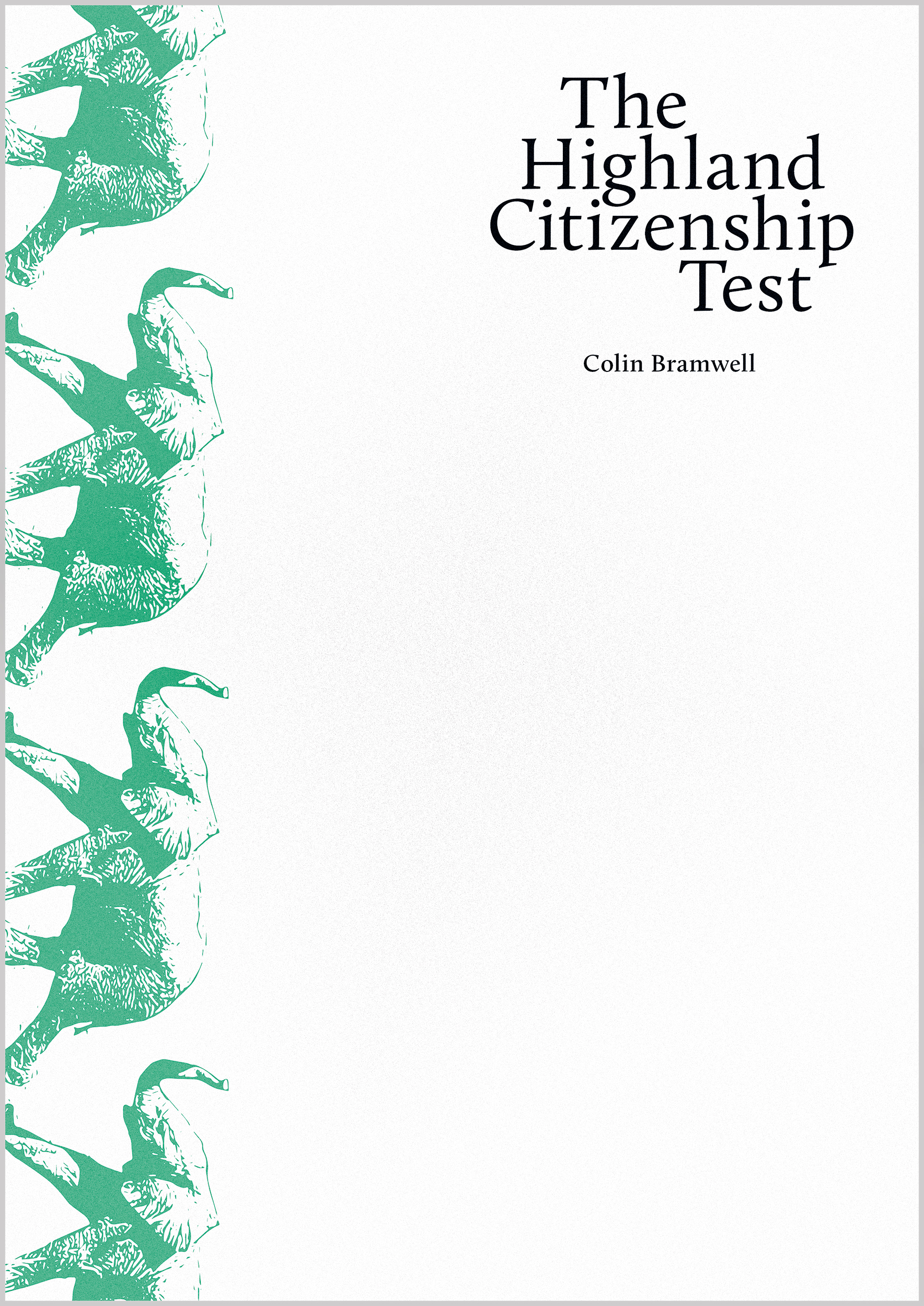 Image for The Highland Citizenship Test
