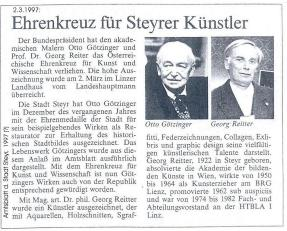 1997 - Georg Reitter u.Götzinger Ehrenz