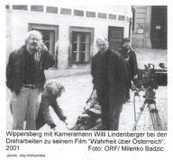 2001 - Walter Wippersberg.Regisseur