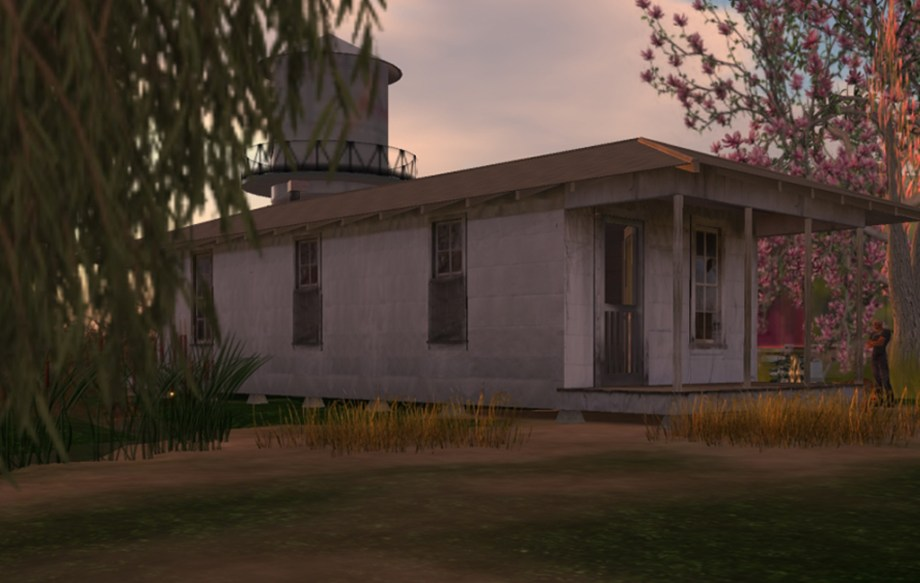 Tenant Farmer's Shack (Second Life)