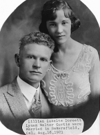 Lyman and Lillian Curtis. He perished, she survived the St. Francis Dam disaster.