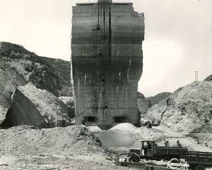 Preparing to Blow Up the Tombstone April 16, 1929
