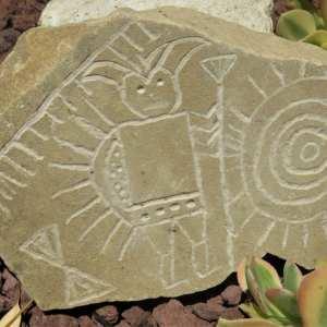 Faux Petroglyphs
