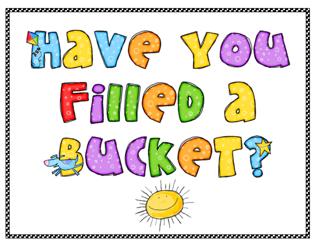 Resolve To Be A Bucket Filler In