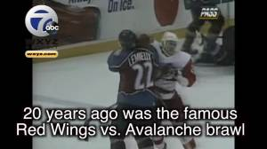 Detroit Red Wings vs. Colorado Avalanche brawl remembered 22 years later