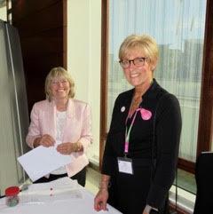 Lipoedema UK Chair, Sharie Fetzer & Denise Hardy