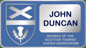 STGA Blue Badge John Duncan