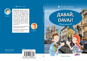 """Cover and lay-out design and illustrations for """"Davaj"""" Russian study book. Published by Finn Lectura 2015."""
