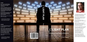 "Cover and lay-out design for ""Flight plan"" by Pietari Vanhala. Published by BOD 2014."