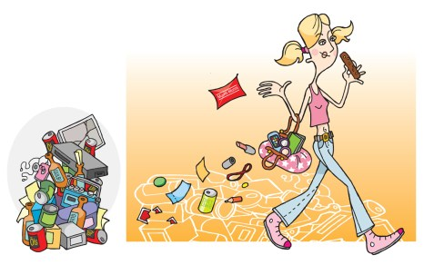 Illustrations for Mannerheim League of Child Welfare project about growing up. Published 2007-2009.