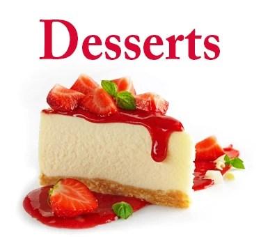 Desserts-menu