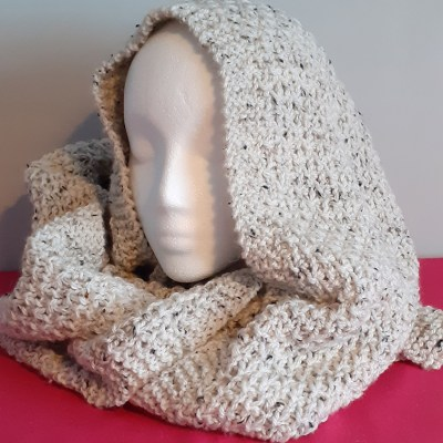 Extra Long Handknitted Scarf