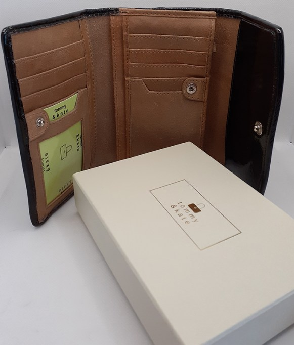 Tommy & Kate Leather Purse/Wallet