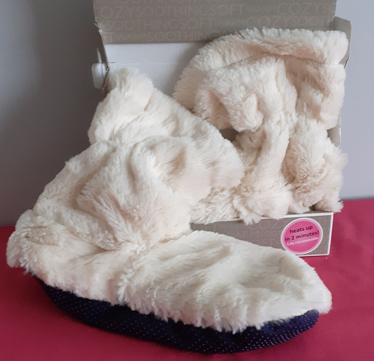Microwavable Slipper Boots