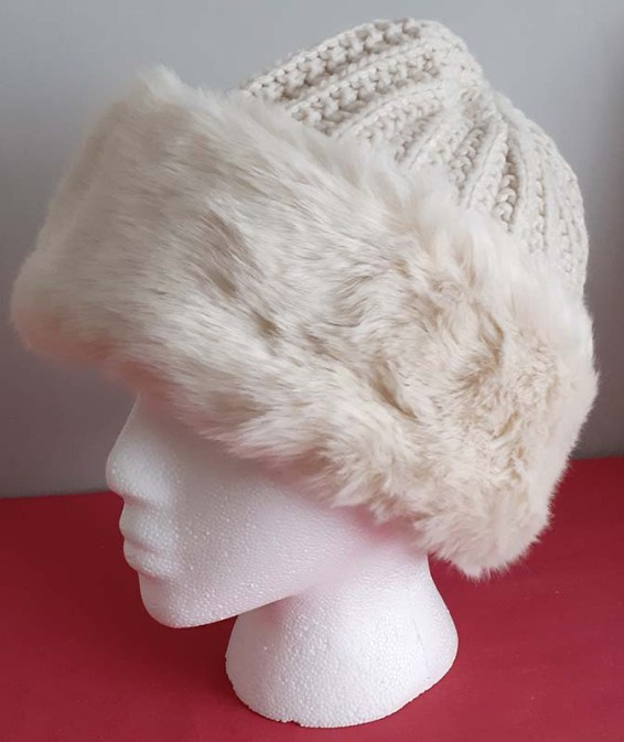 Knitted winter hat from M&S