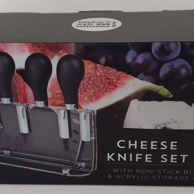 Cheese Knife Set with Block