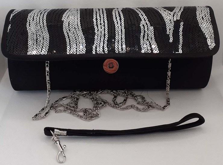 Evening clutch bag