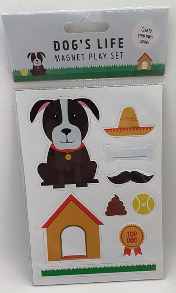 Dog's Life Magnet Play Set