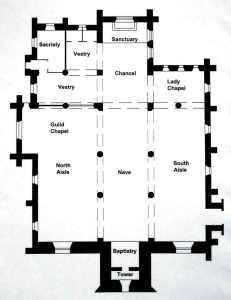 Plan of Church