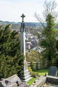 Memorial Cross in Churchyard