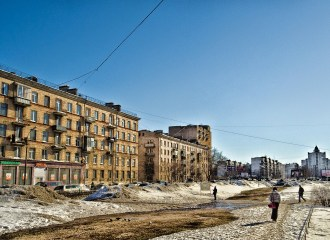 St Petersburg scene