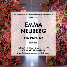 Emma Neuberg and Neringa Dastoor at London Festival of Architecture
