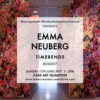 Emma Neuberg and Neringa Dastoor at London Festival of Architecture