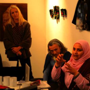 Slow Textiles Group discussion
