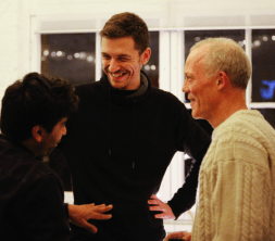 Dejan Mitrovic at Textiles Hub London