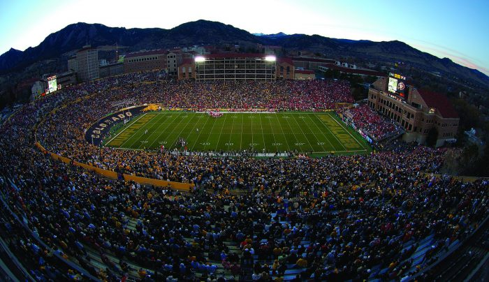 Home of the Colorado Buffaloes Folsom Field