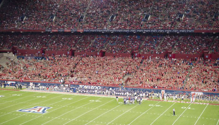 Arizona Wildcats football game