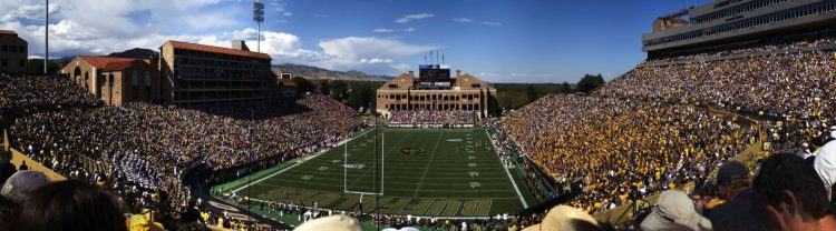 Colorado Buffaloes football game