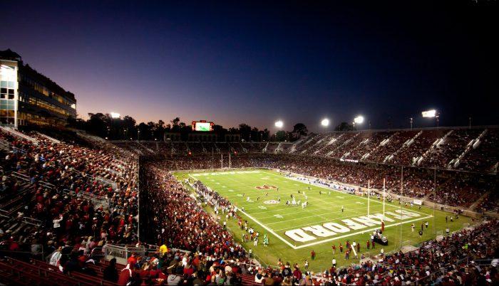 Stanford Cardinal game at Stanford Stadium