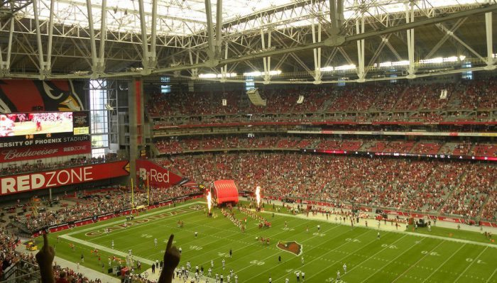 Arizona Cardinals vs Oakland Raiders State Farm Stadium