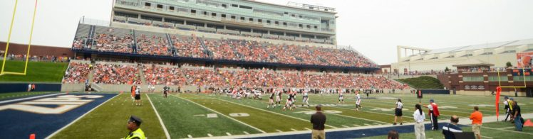 Home of the Akron Zips InfoCision Stadium