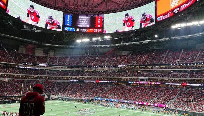 Mercedes Benz Stadium Atlanta Falcons