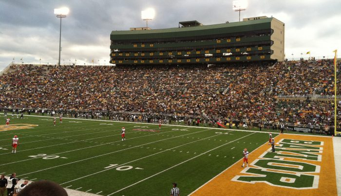 Baylor Bears fans at McLane Stadium