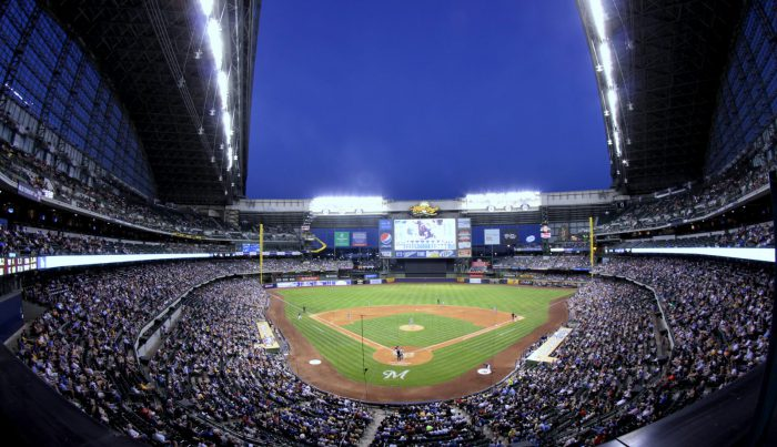 Miller Park at night time