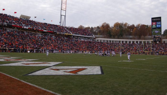 Virginia Cavaliers football game