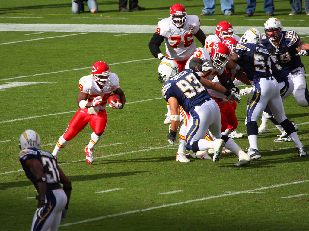Los Angeles Chargers vs Kansas City Chiefs