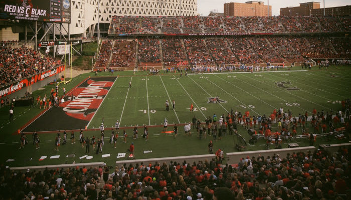 Nippert Stadium Cincinnati Bearcats football game